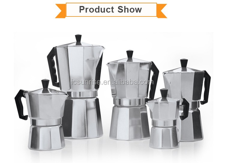 Personalized Mini Durable Aluminum Coffee Maker Pot