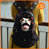 New Style Fashion Cute pet cat dog bag and backpack pet carrier