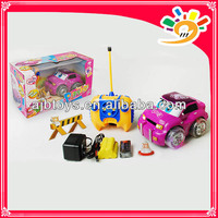 New ! Cute Taxi Toy 4CH RC Taxi Car Toy With Music And Light