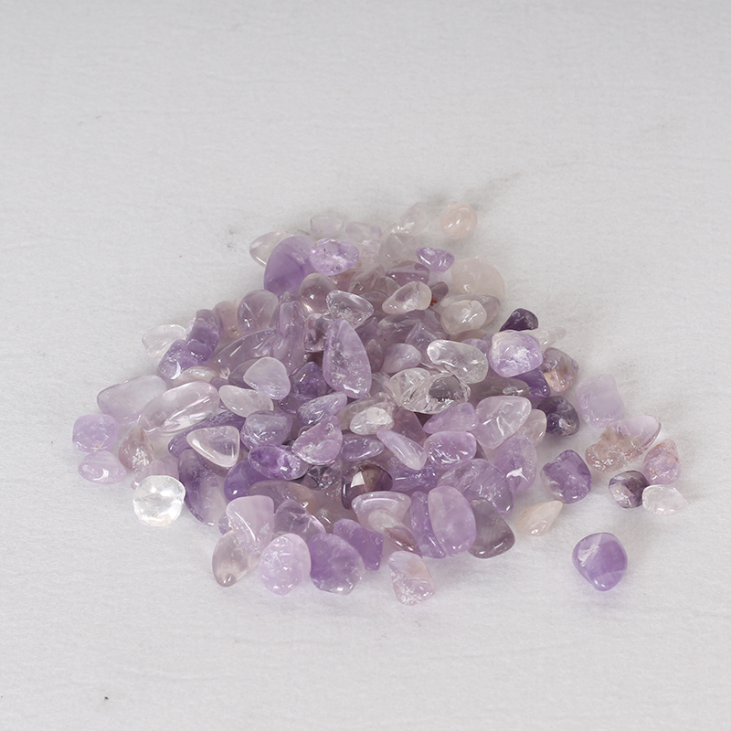 Natural Amethyst Chips Tumbled Bulk Wholesale Amethyst Crystal Tumbled Stones