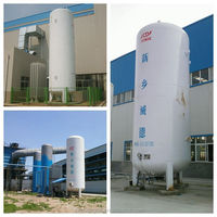 newly designed high pressure liquid oxygen storage tank