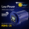 sms/gsm/gprs Low Power modbus flow meter IP68 Data Logger