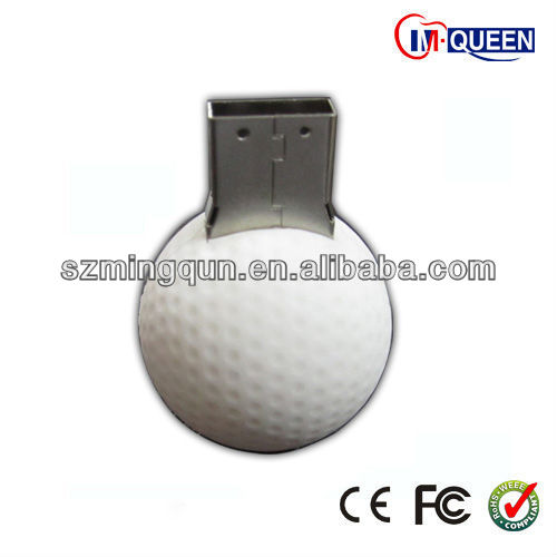golf PVC Usb flash disk 6gb with CE FCC and Rohs