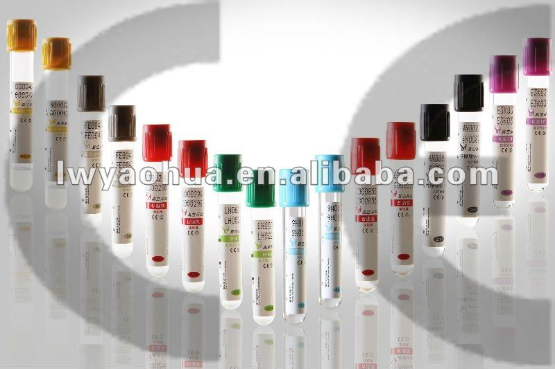 5ml red cap plain vacuum blood collection tube