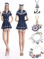 Wholesale cheap dance Sexy Woman Sailor Costumes