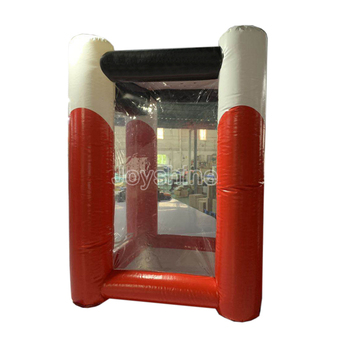 Advertising Events Party Inflat Money Booth Cash Grabber Cube Box Machine Red Cash Grab Inflatable With Factory Prices