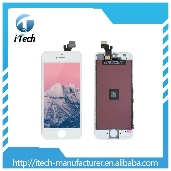 Screen for iphone 5 , for iphone 5 lcd AAA quality with one year warranty
