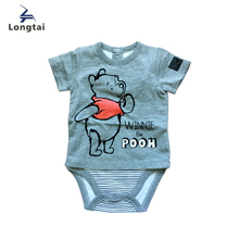 Stylish plain lovely animal baby bodysuit