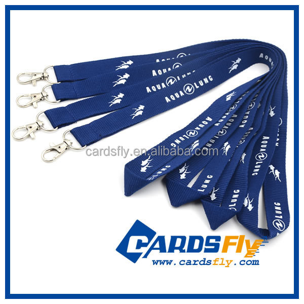 factory direct sale high quality best price polyester lanyard roll
