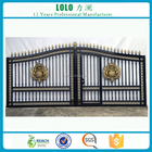 Latest Modern Wrought Iron House Swing Main Gate Designs