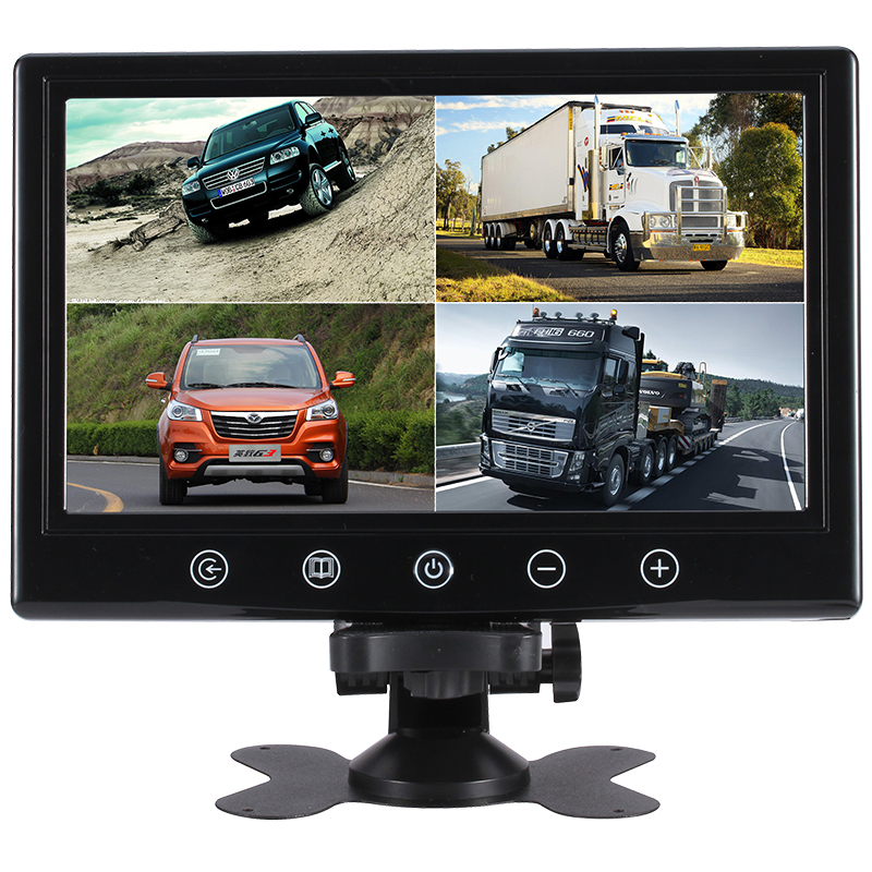 Shenzhen wide screen  lcd screen cctv test monitor 9 inch led cctv monitor with bnc input