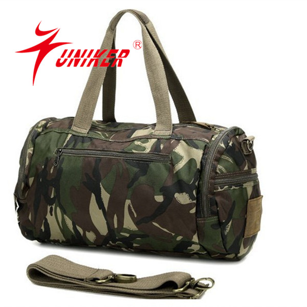 Army green travel bag Camouflage sports bag sports bag for men
