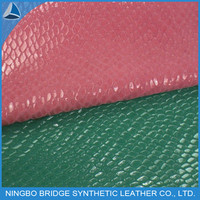 crocodile pattern roller coating upper shoe leather