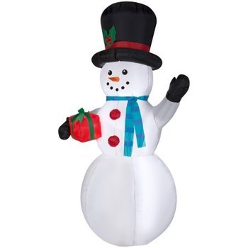 Inflatable holiday Christmas Snowman Inflatable 7ft. Tall CH-09