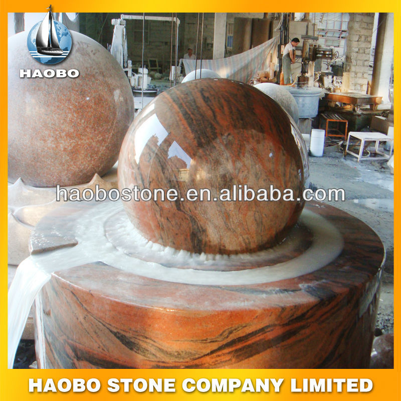 Granite Ball Rolling Foutain Manufacturer