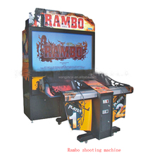 hot sales coin operated amusement video electronic race game machine Rambo arcade machine