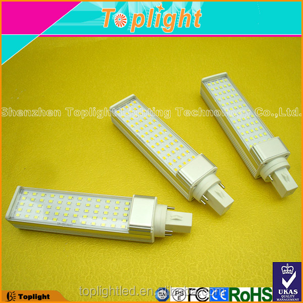 3 years warranty G23 G24 Base Type pl lamp led 4pin pl 9w 12w 18w