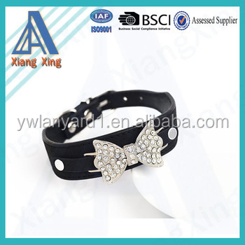 Best selling permium wholesale customized fake diamond dog collar