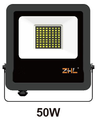 Best selling in Eastern Europe new design silm not heavy reasonable price 50w led floodlight