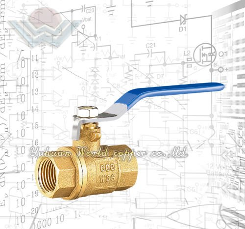 Europe Brass and bronze Ball Valve,Two-Piece Body,Standard Port,Blowout-Proof Stem,TFE Seats