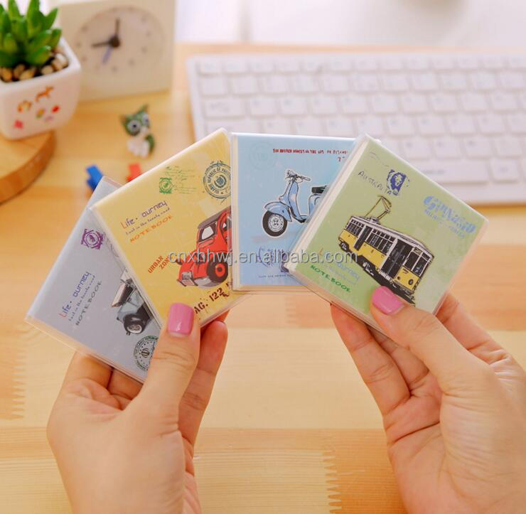 pvc cover sticky notes pad self adhesive memo pads stick notes paper notes
