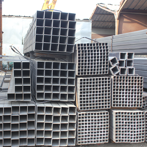 High tensile GB standard galvanized steel square tube