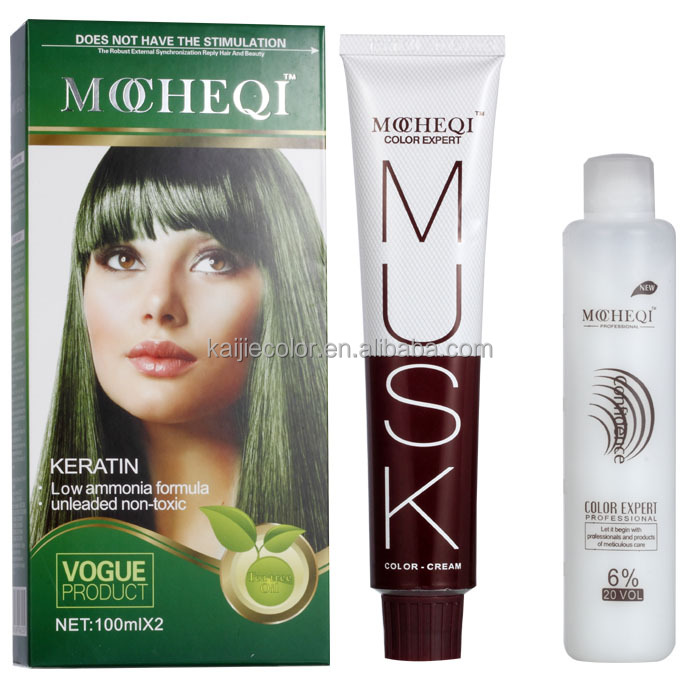 Mocheqi fragrant&perfect free hair dye samples