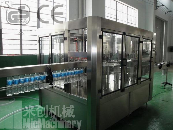 MIC-18-18-6 Micmachinery pure water making machine mineral water making machine 5000-6000bph with CE
