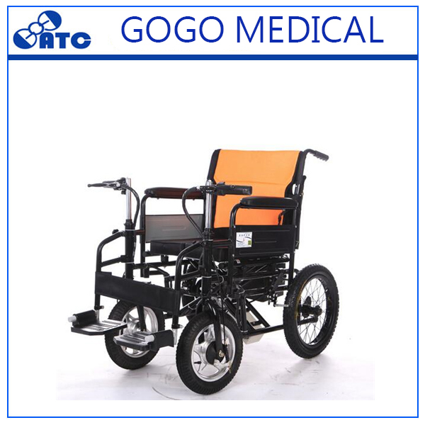 Sales promotion wheelchair foldable electric wheelchair
