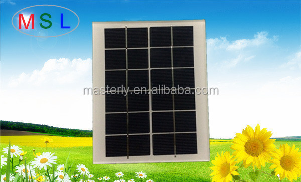 Factory direct supply solar panel manufacturers in china 2W6V