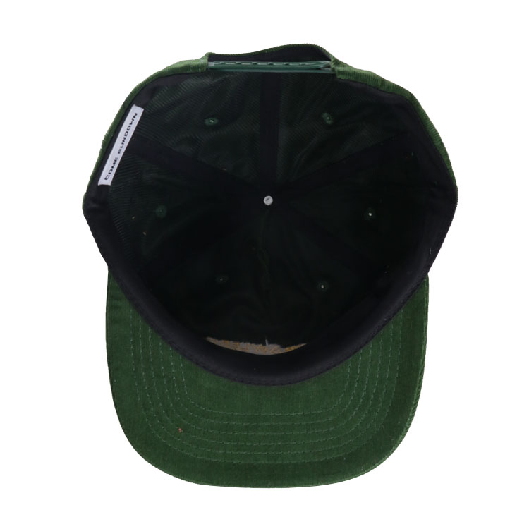 High Quality Embroidery Private Label Wholesale Corduroy Baseball Snapback Hats And Caps