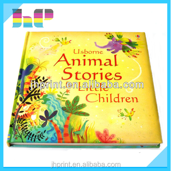 China facory wholesale children story book/animal story book for kid printing