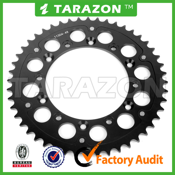SUZUKI Rear Aluminum Alloy Racing Chainwheel Sprocket For RM85