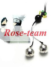 Rose-team Fantasia Anime Cosplay Lolita Made Naruto Silver Bells Cosplay Accessories