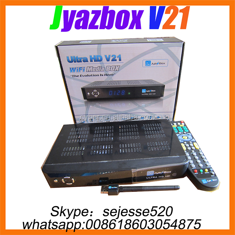 Jyazbox ultra hd v21 satellite receiver with jb200 and wifi Jyazbox v21 hdtv receiver