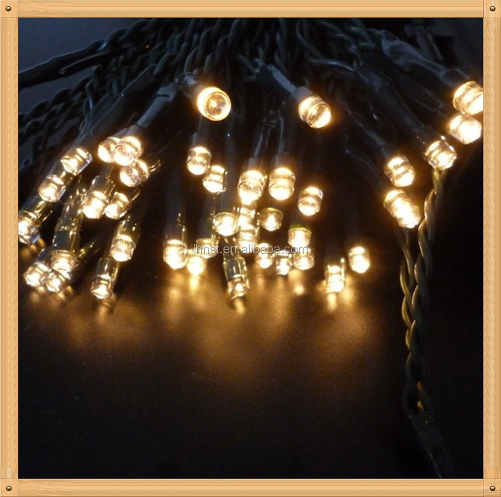 Brand new colourful christmas led 6cm cotton ball string light