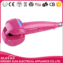 Fast heat up portable Electric Styler Ceramic Hair Curler As Seen On TV Hair Curler LCD Display Mini Hair Curler Good Price