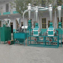 6-8 TPD bean milling machine/cassava flour processing machine price/grain mill machine