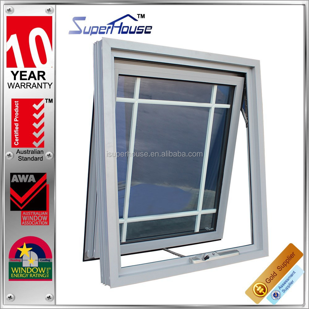 superhouse chain winder tinted glass window grills design pictures comply with Australian standards AS2047 AS2208 AS1288