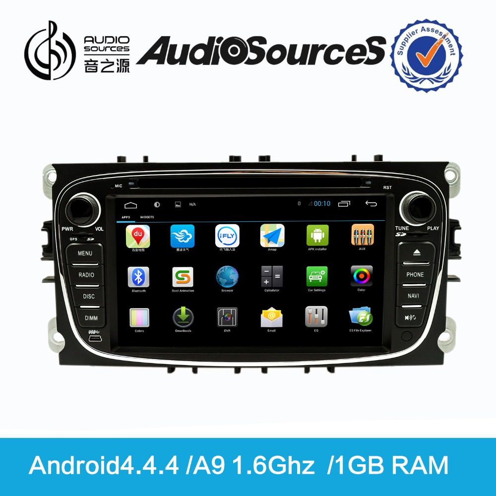 Wholesale 2 Din Auto Radio Car DVD GPS Navigation With GPS/Bluetooth/Game Player for Ford D90-8607
