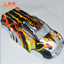 New design plastic PVC RC car body shell cover for children