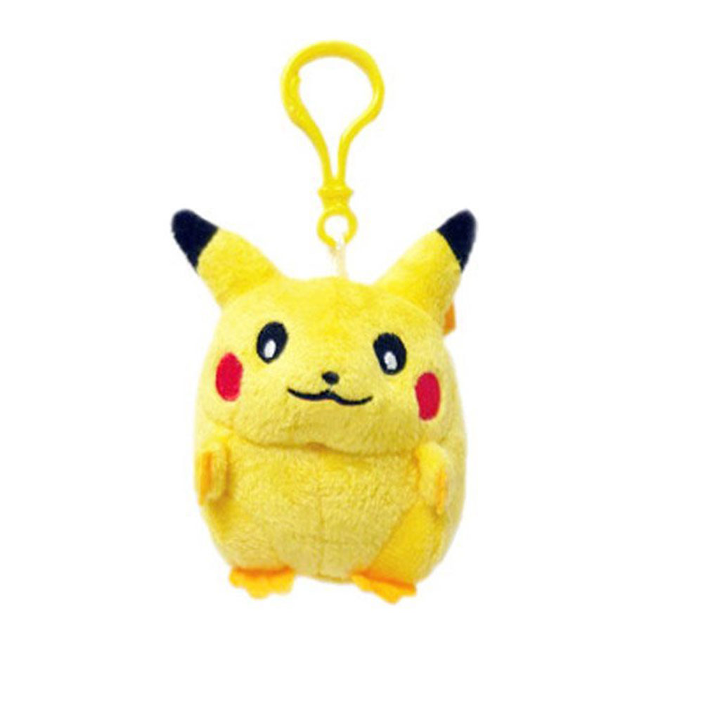 Fashinable cute baby pokemon plush keychain