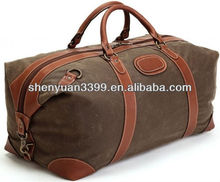 Good quality large capacity Canvas duffel bags travel bags tote bags