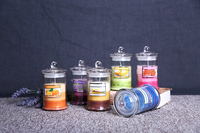Fragrance Art Jar Candle Air Freshener Scented Handmade Candle