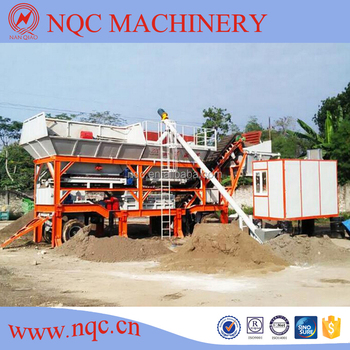 YWCB120 Mobile Type Stabilized Soil Mixing Plant