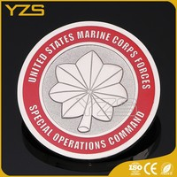 Wholesale zinc alloy material Custom metal maple leaf Coins