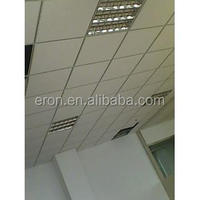 Green Durable Antiseptic Waterproof PVC Decorative Ceiling Board