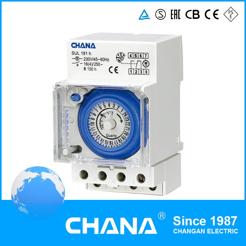 High Quality 250VAC 16A 24 Hours Time Relay