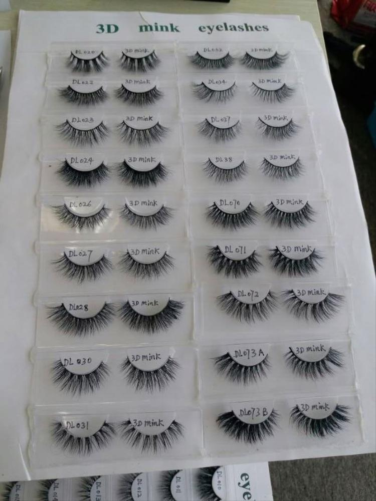Premium mink lashes Alibaba China Suppliers wholesale Mink eyelash, lilly 3d mink eyelash and custom package with private label