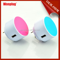 wholesale high quality one USB mobile travel charger for Australia/New Zealand